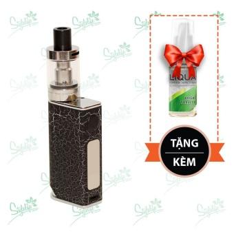 Bộ sản phẩm thuốc lá điện tử (vape) Ovancl P9 (Black) tặng 1 lọ tinh dầu New Liqua 10ml vị Thuốc lá nhẹ