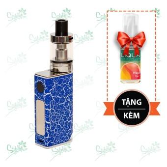 Bộ sản phẩm thuốc lá điện tử (vape) Ovancl P9 (Blue) tặng 1 lọ tinh dầu New Liqua 10ml vị Đào