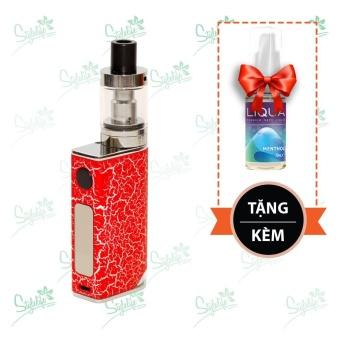 Bộ sản phẩm thuốc lá điện tử (vape) Ovancl P9 (Red) tặng 1 lọ tinh dầu New Liqua 10ml vị Bạc hà
