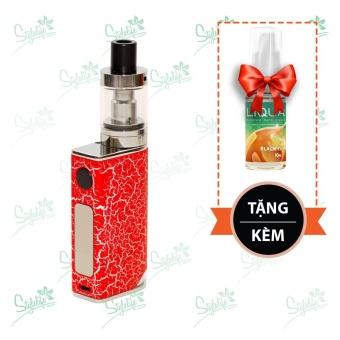Bộ sản phẩm thuốc lá điện tử (vape) Ovancl P9 (Red) tặng 1 lọ tinh dầu New Liqua 10ml vị Trà đen