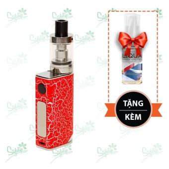 Bộ sản phẩm thuốc lá điện tử (vape) Ovancl P9 (Red) tặng 1 lọ tinh dầu New Liqua 10ml vị Xì gà Cuba