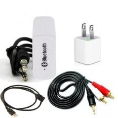 Bộ thiết bị tạo bluetooth cho dàn âm thanh Bluetooth Version2 Wireless 5in1 Gamo (Trắng phối đen)
