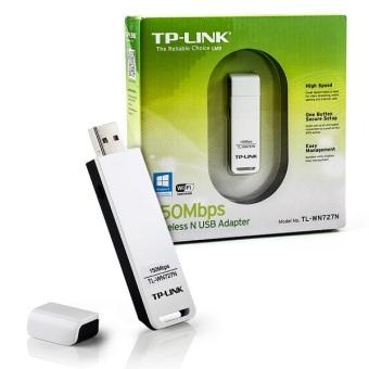 Báo Giá Bộ thu sóng không dây Wifi TP-Link TL-WN727N tốc độ cao 150Mbps USB – Hãng phân phối chính thức