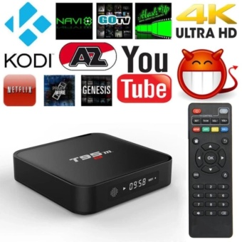 BỘ TRỌN GÓI ANDROID TV BOX T95M – 2GB RAM & 8GB ROM