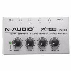 Bộ trộn micro 4 cổng siêu nhỏ gọn N-Audio MIX400