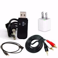 Cập Nhật Giá Bộ USB Bluetooth Thế hệ 2 BT Dongle Plug&Play 5in1 tạo kết nối bluetooth cho amply và loa GamoShop