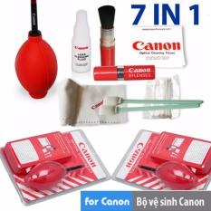 Bộ vệ sinh máy ảnh Canon 7in1 2017(Đỏ)