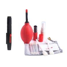Bộ vệ sinh máy ảnh dành cho Canon và bút lau ống kính (Đỏ)