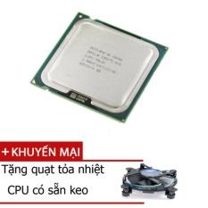 Bộ vi xử lý cpu e8400 -tặng quạt