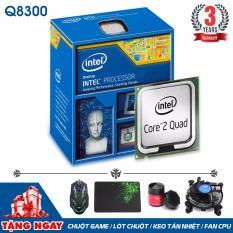Bộ vi xử lý Intel CPU Core 2 Quad Q8300 (4 lõi, 4 Luồng) + Quà Tặng – Hàng Nhập Khẩu