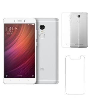 Bộ Xiaomi Redmi Note 4 64Gb (Bạc) - Hàng nhập khẩu + Ốp Lưng + kính cường lực