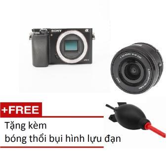 Body Sony A6000 + Lens 16-50Mm+ Bóng Thổi Bụi(Đen)