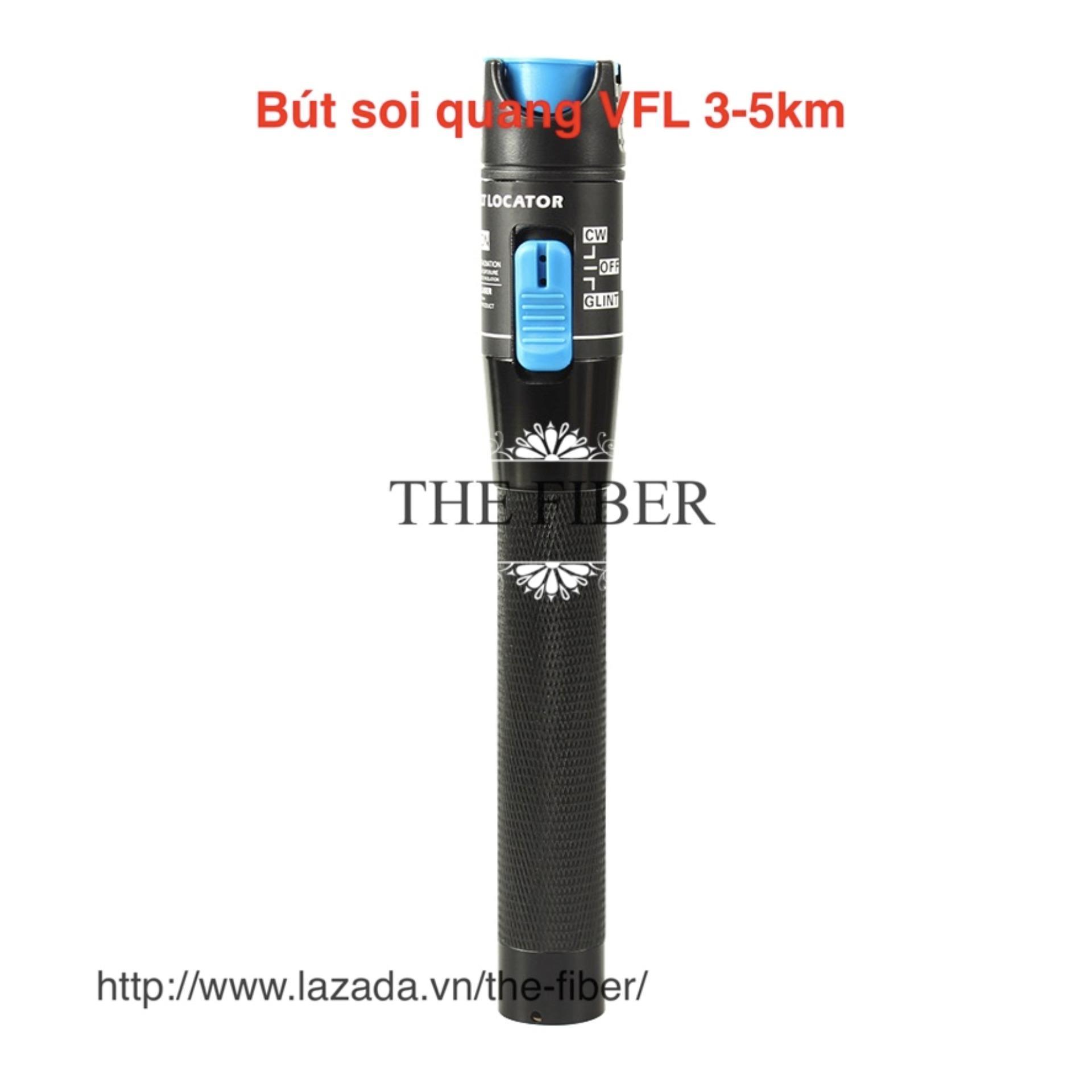 Bút dò lỗi sợi quang VFL 3-5km (1mW) (Đen)