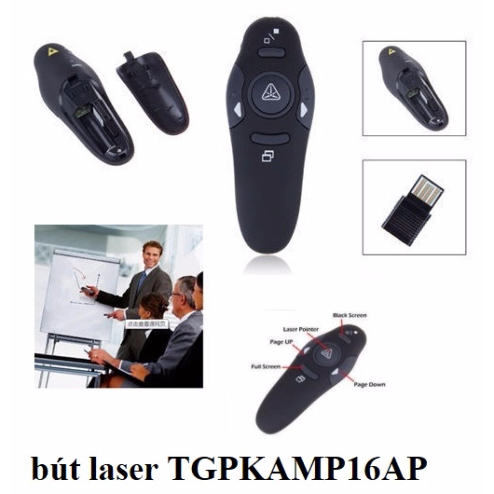 Chi tiết sản phẩm Bút trình chiếu, lật trang laser TGPKAMP16AP