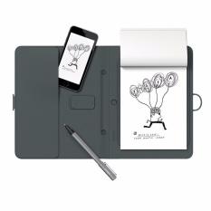 bút vẽ cảm ứng kèm sổ ghi chú thông minh tự đồng bộ dữ liệu vào điện thoại , Tablet Bamboo Spark(xám)- Hàng nhập khẩu