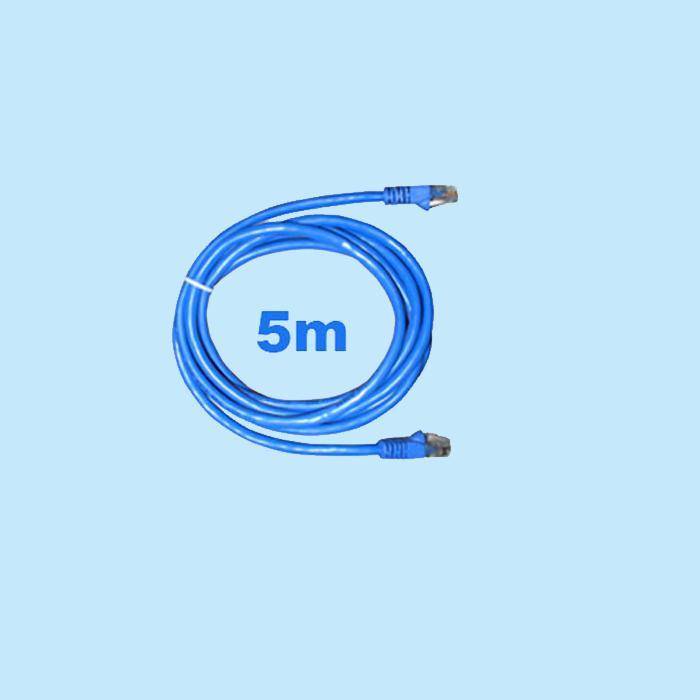 Cập Nhật Giá Cable mạng 5 mét bấm sẵn Cat5 xanh