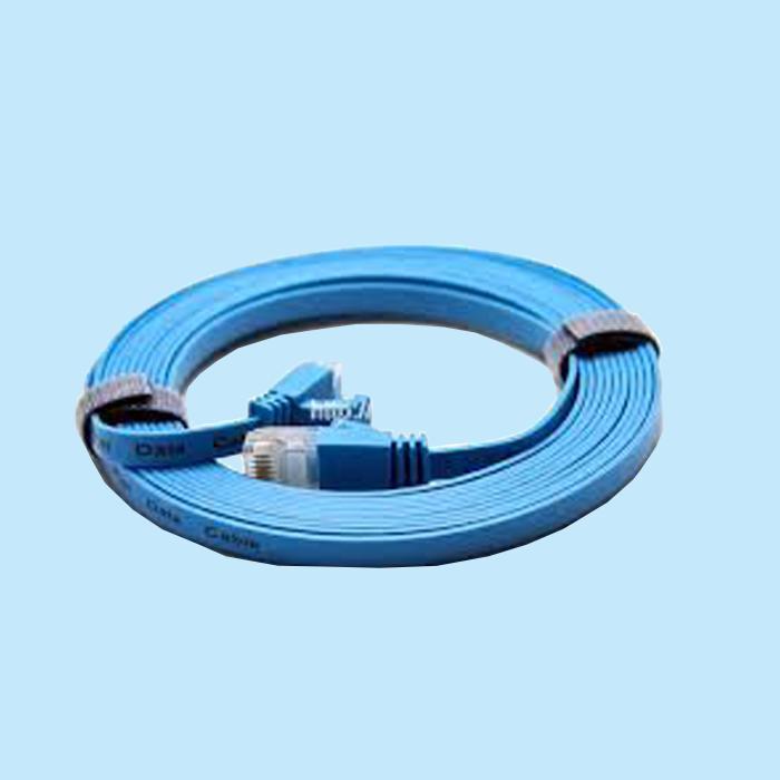 Cable mạng 5 mét bấm sẵn Cat6 xanh