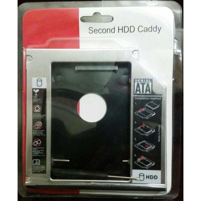 Bảng giá Caddy Bay loại Mỏng Gắn thêm ổ cứng cho laptop Phong Vũ