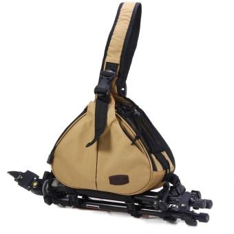 Caden K1 Triangle Crossbody Shoulder Bag for Canon Nikon DSLR Camera - intl - 2 ...
