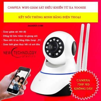 Camera 2 râu angten (Bản mới độ nét cao) 1080 Liên doanh Yoosee - Agiadep
