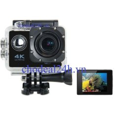 Camera hành động Waterproof ACTION CAMERA WIFI MultiPurpose 4K ULTRA HD (Đen)