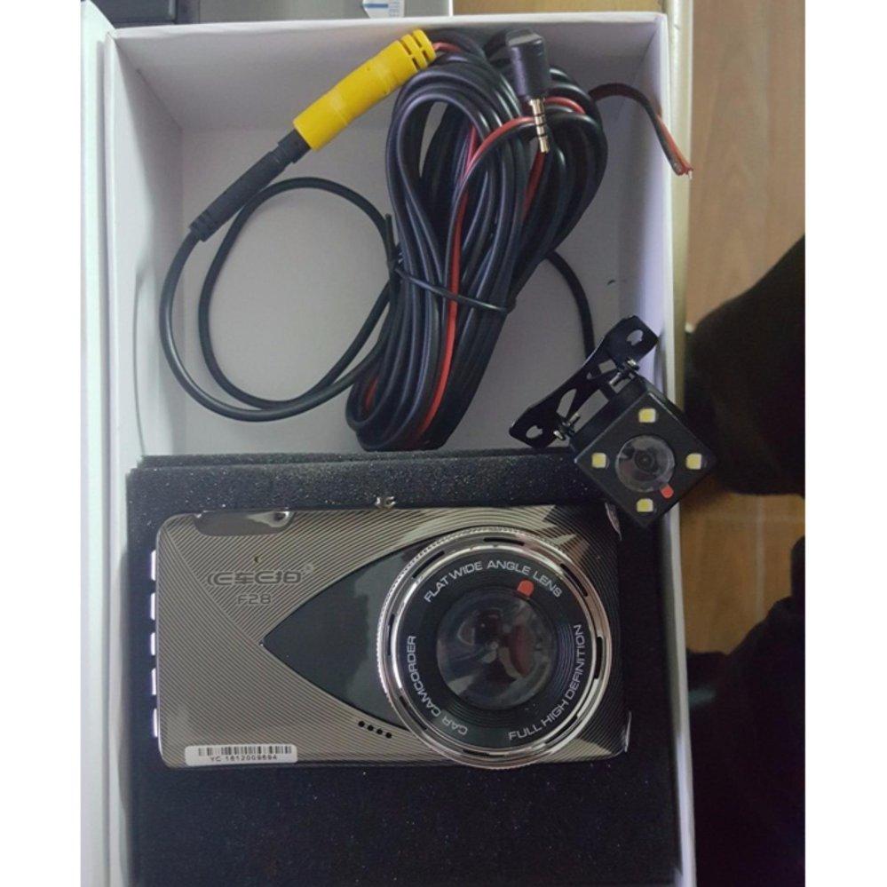 Camera hành trình 2 mắt vehice blackbox dvr f28