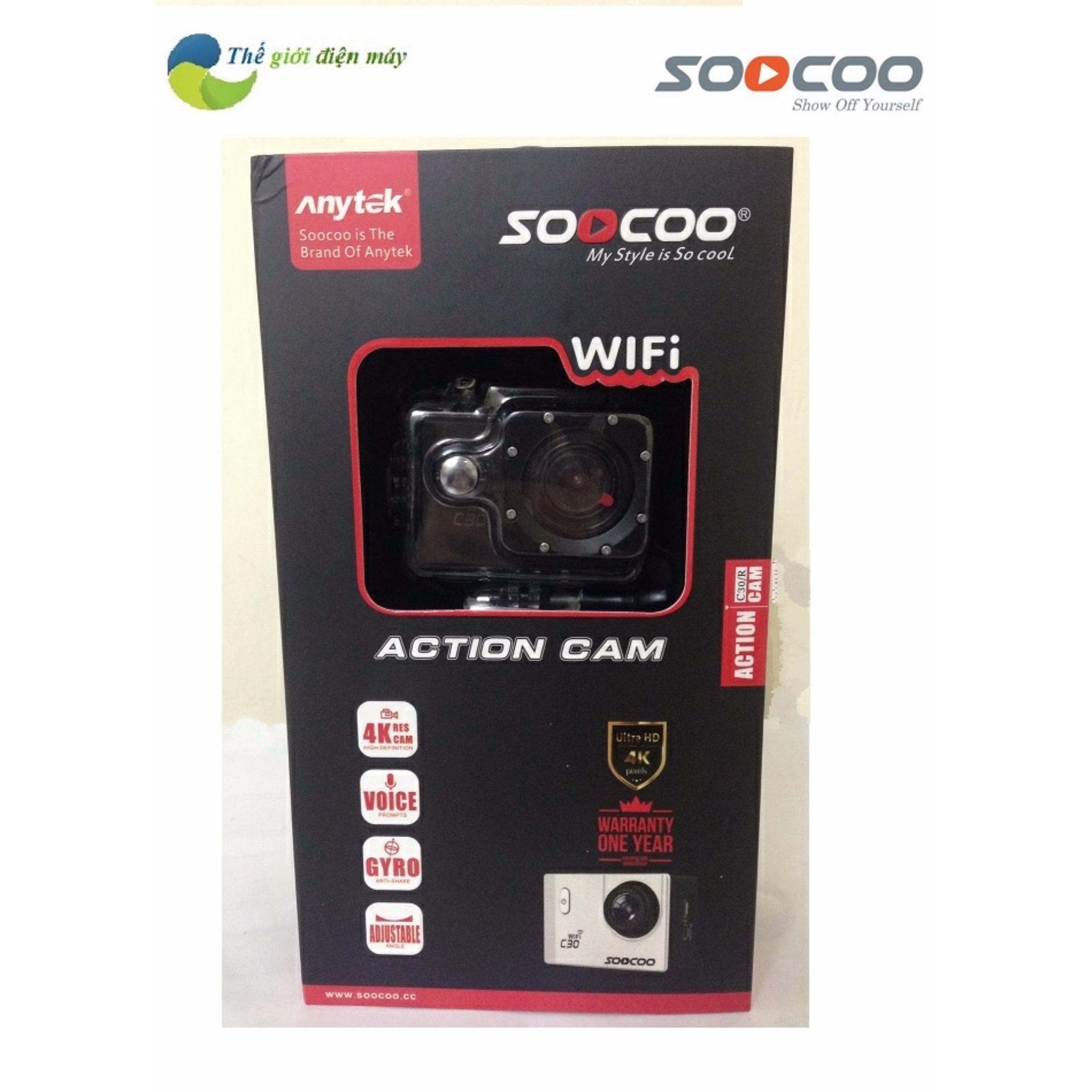 camera hành trình 4K wifi – Soocoo C30
