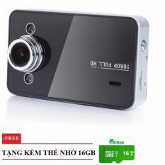 Camera Hành Trình Cho Oto Góc Rộng 2502+ Thẻ Nhớ 16GB