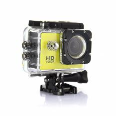 Camera Hành Trình Du Lịch Chống Thấm Nước-GDLT01 + Thẻ nhớ 8GB (Màu Vàng)