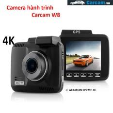 Camera Hành Trình W8 Carcam Wifi GPS 4K