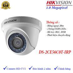 Camera HDTVI hồng ngoại 20m 1MP Hikvision DS-2CE56C0T-IRP