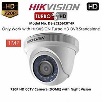 Camera hồng ngoại ốp trần độ nét cao 1 Megapixel Hikvision DS-2CE56C0T-IR