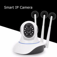 Mẫu sản phẩm Camera IP giám sát không dây WIFI 3 Ăng-ten thế hệ mới SJ3