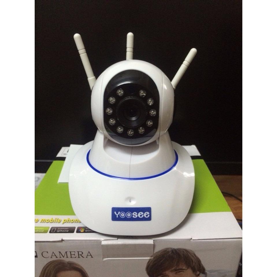 Camera IP Wifi Yoosee 3 Râu HD Phiên Bản 2018