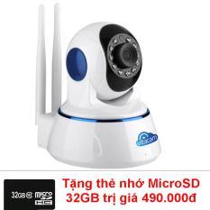 Camera IP Wifi độ phân giải HD720P Vitacam VT720 + tặng thẻ nhớ 32GB