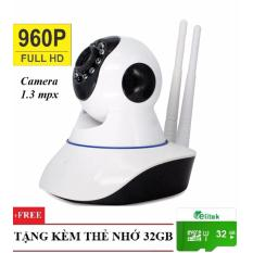 Camera IP Yoosee Full HD 960P Giám Sát kiêm báo động YYZ130 Free Thẻ Nhớ 32GB