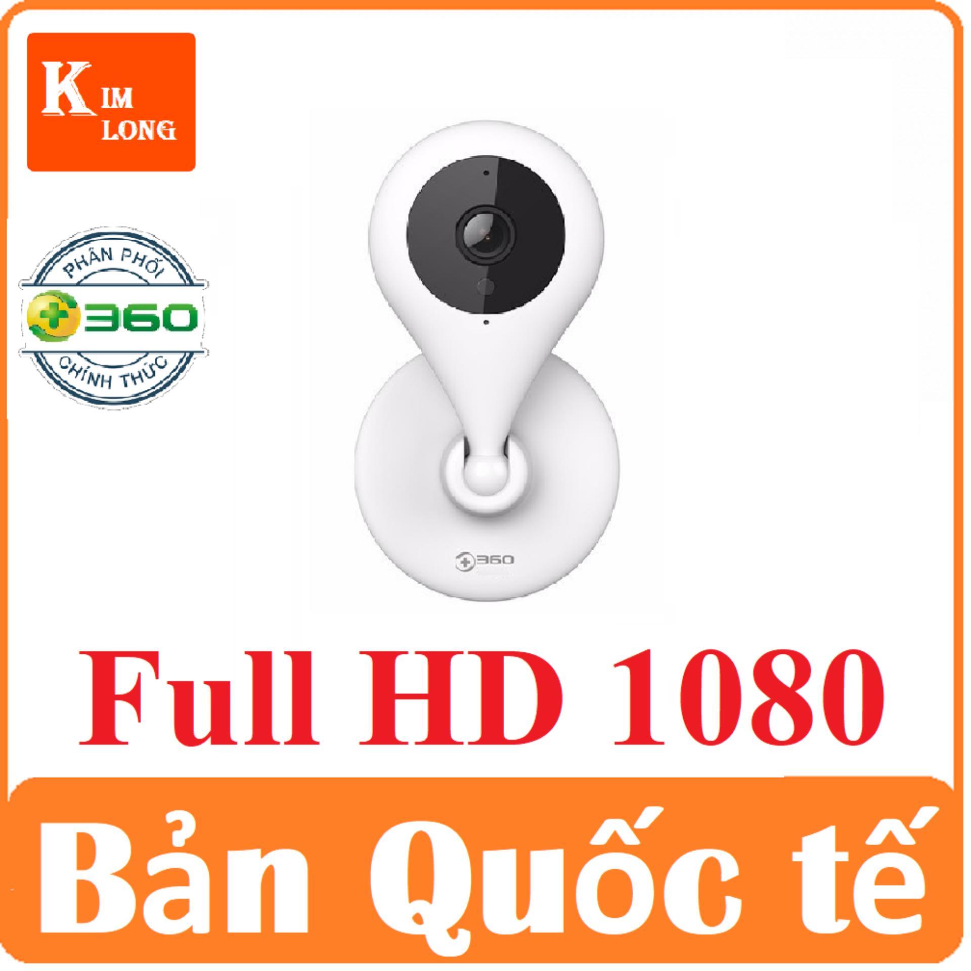 Camera Qihoo 360 1080p 150 độ Bản Quốc Tế Tiếng Anh