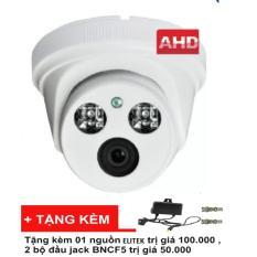 Camera quan sát AHD ELITEK ECA-L10813(Trắng) + Tặng quà trị giá 150.000vnd (01 nguồn elitek và 2 bộ đầu jack BNCF5)
