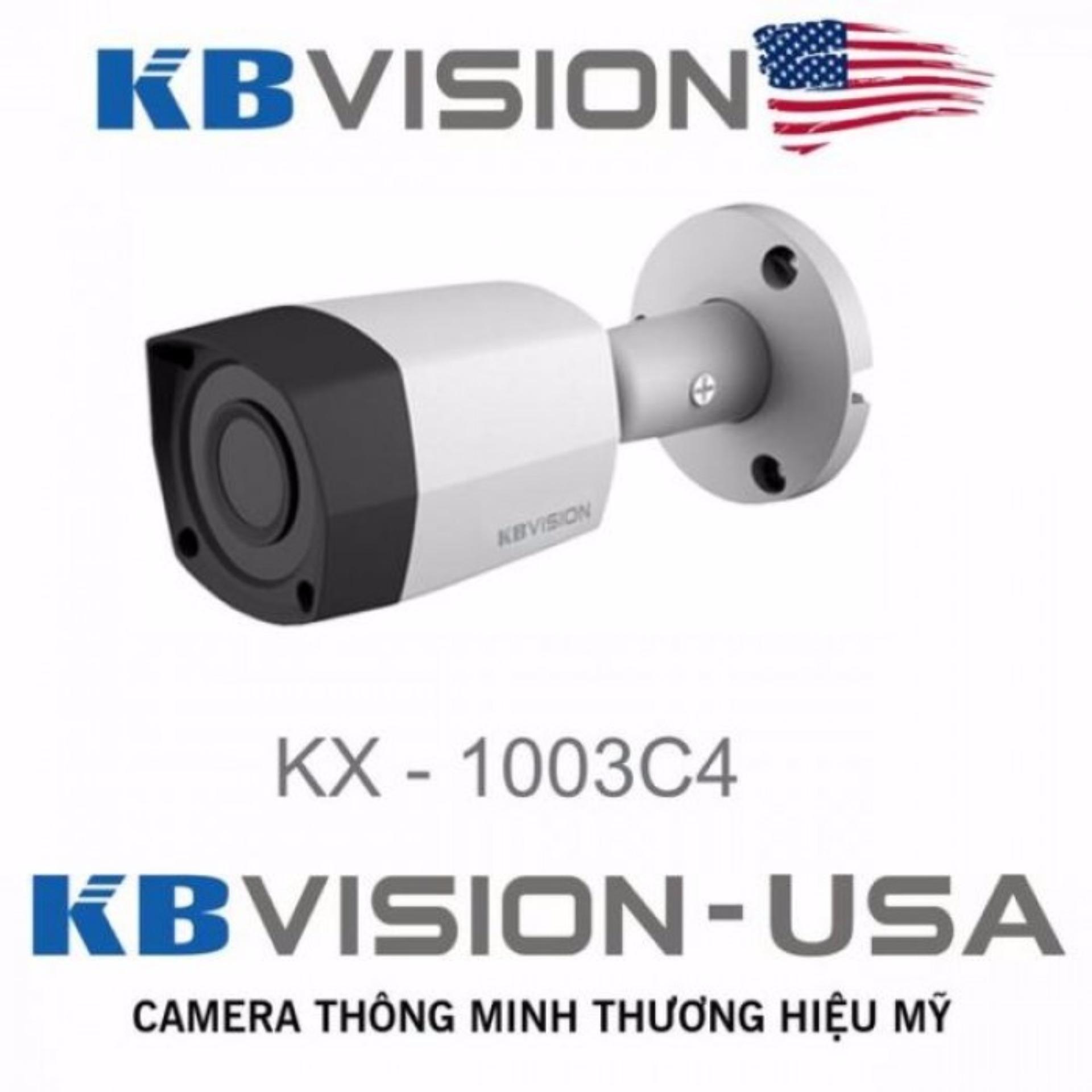 Giá Sốc Camera quan sát ngày đêm Kbvision KX-1003C4 USA KX-1003C4