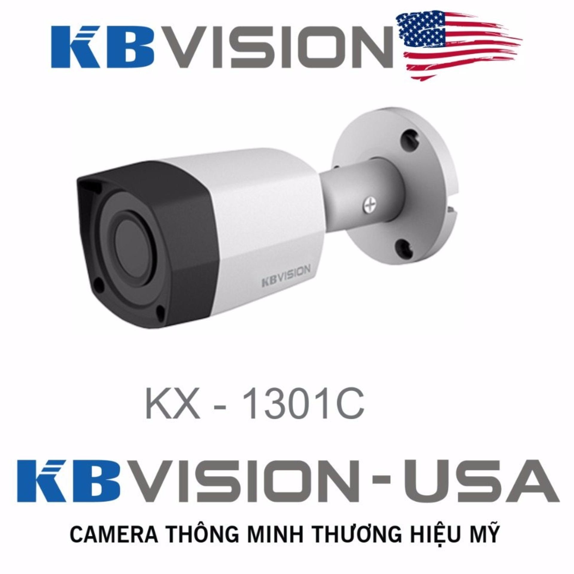 Chi tiết sản phẩm Camera quan sát ngày đêm KBVISION KX-1301C USA
