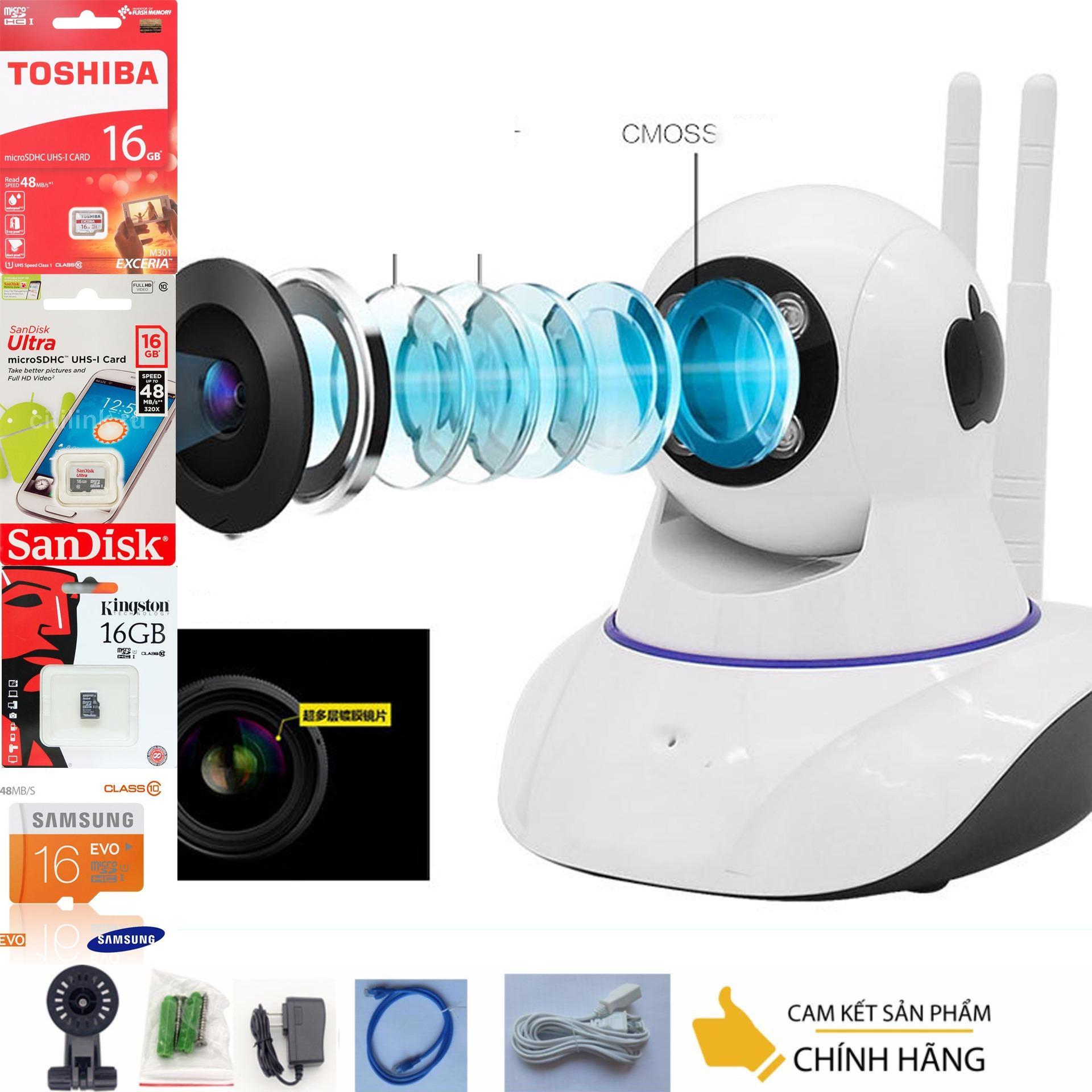 Camera vantech gia re – YOOSEE wifi Siêu nét FULL HD 1920×1080 MỚI NHẤT + THẺ NHỚ 16G CLASS 10 – bh 1 đổi 1 TECH-ONE