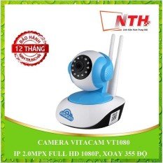 CAMERA VITACAM VT1080 – IP 2.0MPX FULL HD 1080P, XOAY 355 ĐỘ