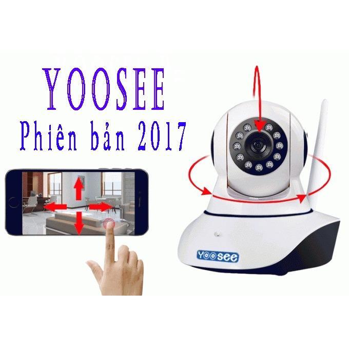 Camera Wifi giám sát ngày đêm Yoosee ( bản 2017 ) 10 đèn hồng ngoại