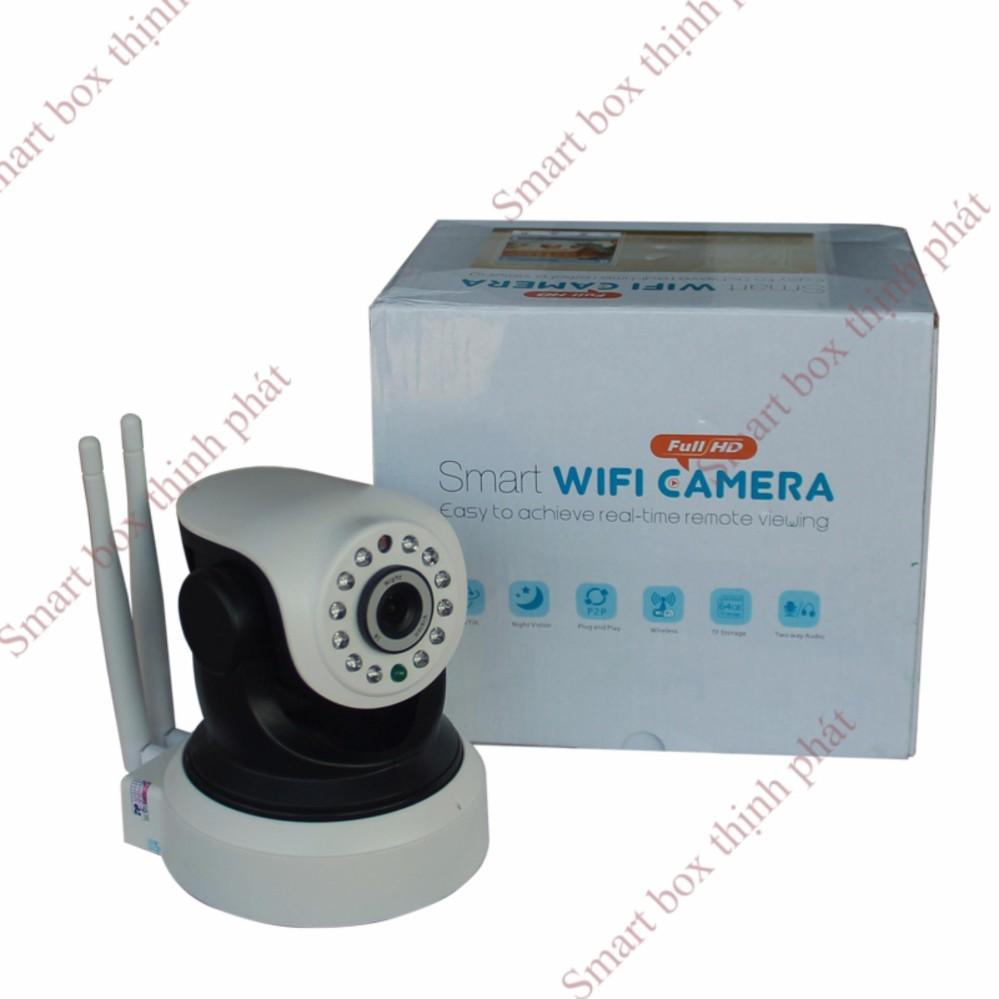 Camera wifi ip 2 anten xoay 360HD Siepem S6203Y Pro