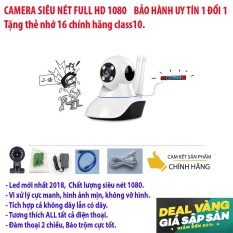 Camera wifi không dây siêu nét 1920 x 1080 – DÒNG SẢN PHẨM CAO CẤP – khuyến mãi thẻ nhớ 16G