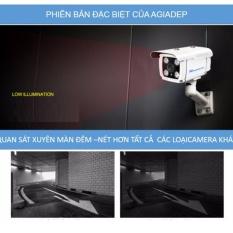 Camera wifi ngoài trời chống nước Yoosee – Agiadep (Bản Super) duy nhất có LAN và Âm thanh