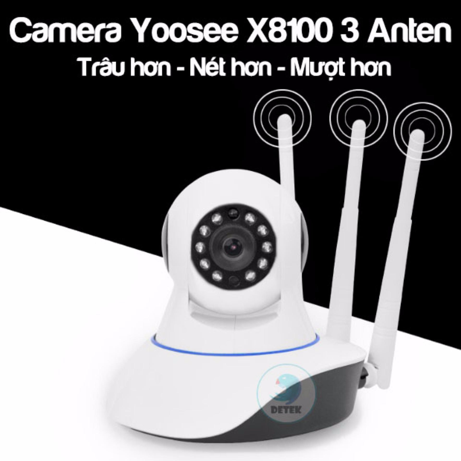 Camera Yoosee 3 Anten X8100 Phiên bản 2 Trâu hơn Rõ nét hơn