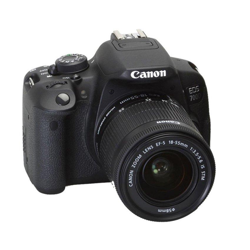 Canon EOS 700D 18.0MP với Lens kit EF-S 18-55mm IS STM (Đen)
