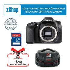 Tư vấn mua Canon EOS 80D + Kit EF-S 18-55mm f/3.5-5.6 IS STM (Chính hãng Lê Bảo Minh) + Tặng khoá học nhiếp ảnh EOS + Thẻ SD 16GB + Túi Canon