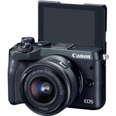 Canon EOS M6 với lens kit EF-M 15-45mm f/3.5-6.3 IS STM (Đen) Chính hãng Lê Bảo Minh